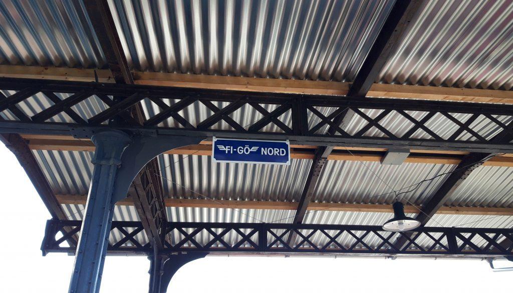 """Grosser Bahnhof in """"FI-GÖ NORD"""""""